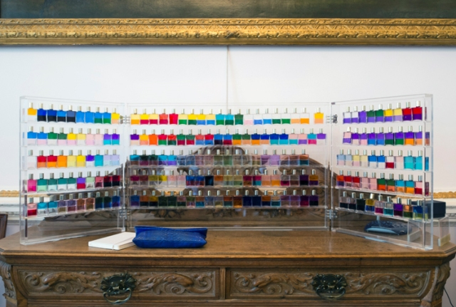 """The scents explored by the artist featuring in """"I am here but you've gone"""", photo courtesy of Fiorucci Art Trust"""