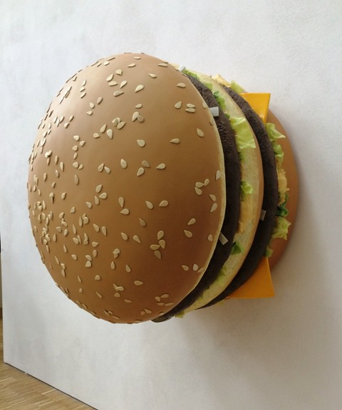 Tom Friedman, big big mac, 2013, courtesy of Luhring Augustine, New York and Stephen Friedman Gallery, London