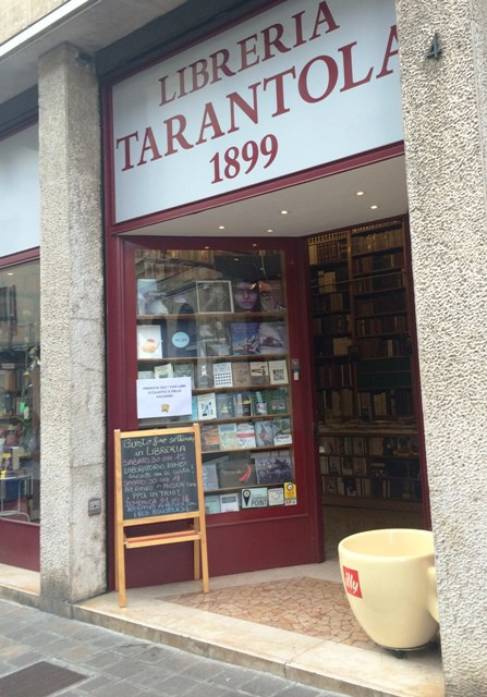 The Tarantola bookstore, photo by N