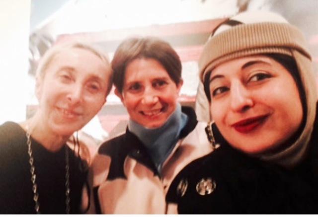 Trinity moment ft. Carla Sozzani, Isabella Tonchi & me, myself and I, photo by N