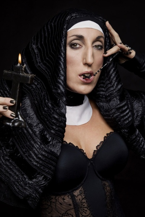 Rossy De Palma, photo by Bruce LaBruce