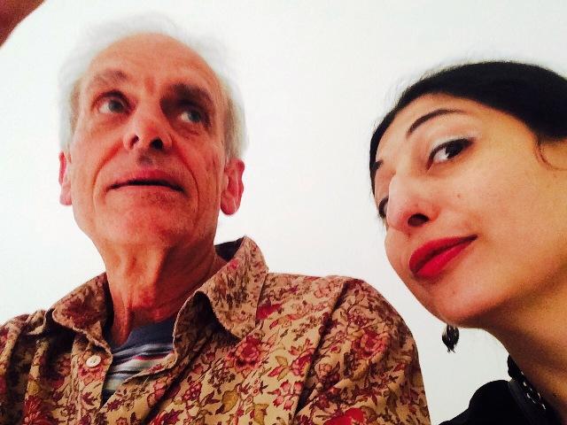 Me, myself & I along with Angelo Naj Oleari, photo by N