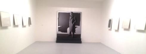 Lucio Fontana, photo by N