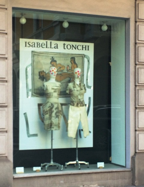 The show-room of Isabella Tonchi, photo by N
