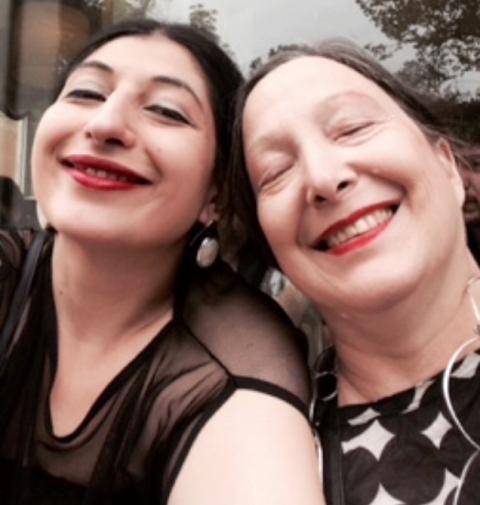Fashion at Iuav 2014: me, myself & I along with Elda Danese, photo by N