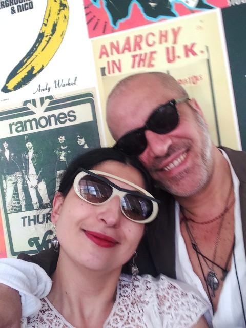 Me, myself & I along with Liborio Capizzi, photo by N