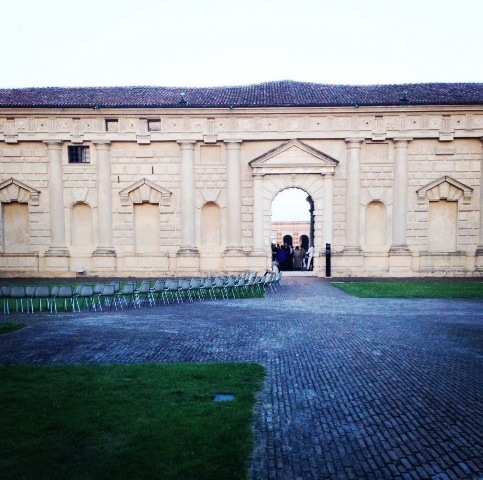 Mantua Palazzo Te, photo courtesy of Barbara Locatelli
