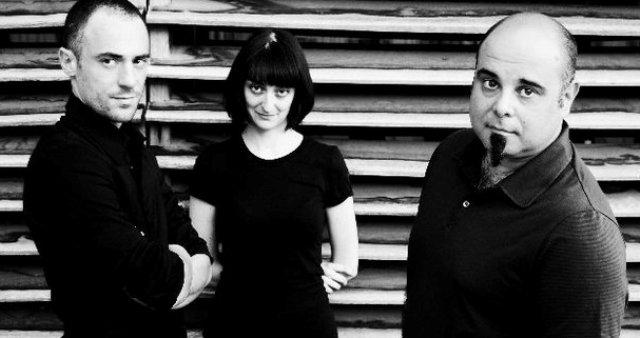 Elio Germano, Martina Bertoni and Teho Teardo, photo by Tiziana Cera Rosco