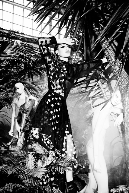 Augustin Teboul Spring/Summer 2016, photo by Ellen von Unwerth