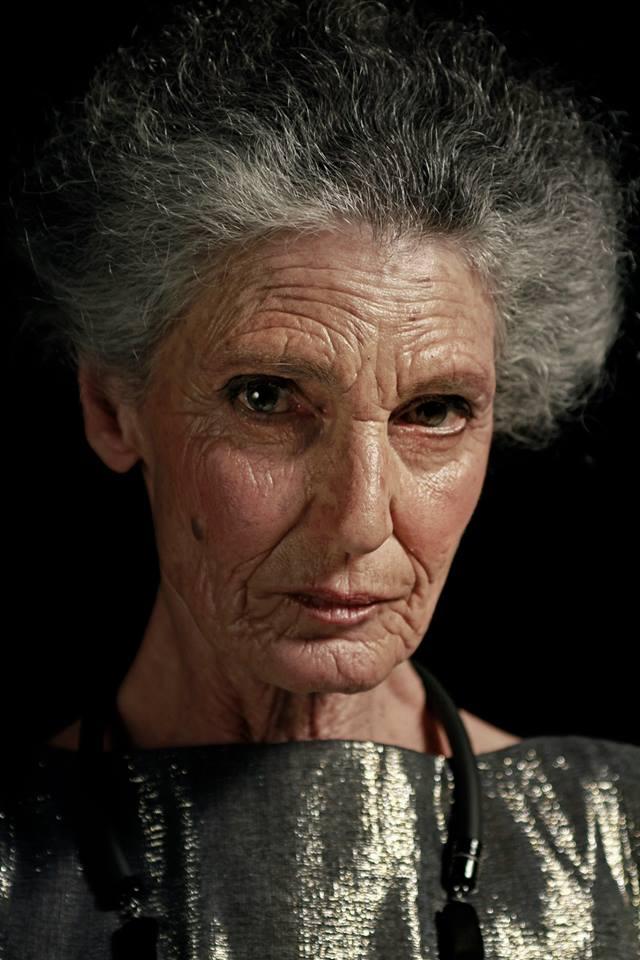Benedetta Barzini, still image from the fashion film