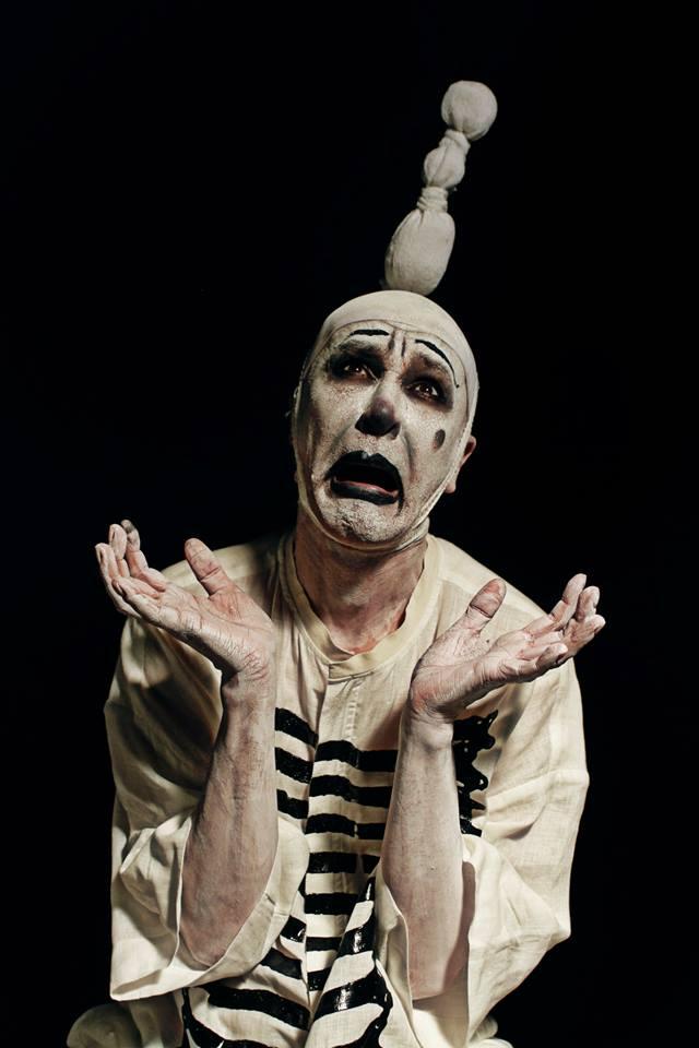Arturo Brachetti, still image from the fashion film