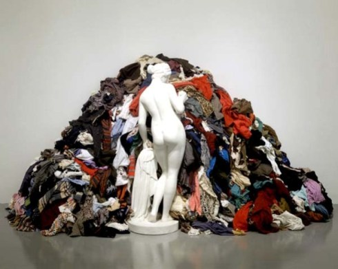 """Venus of the rags"", Michelangelo Pistoletto 1967"