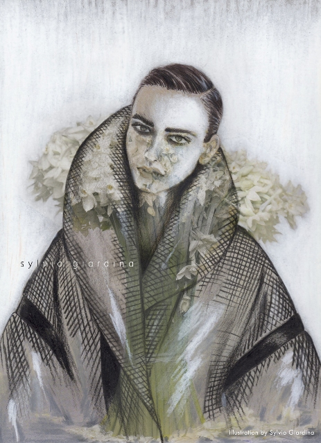 Sylvio Giardina Fall/Winter 2015, illustration by Sylvio Giardina