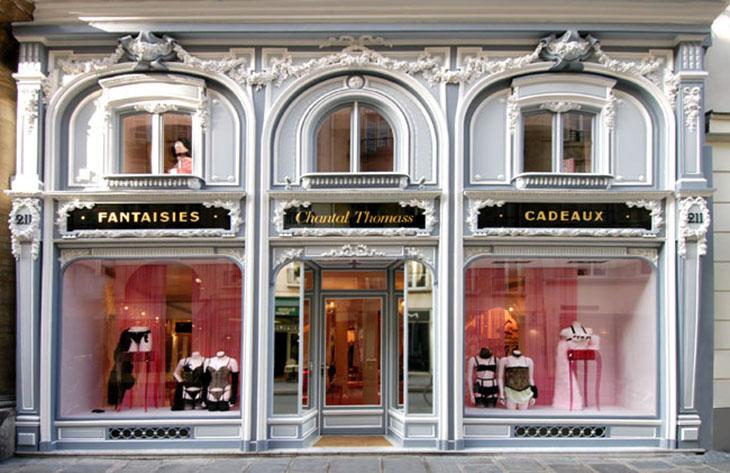 The Paris boutique of Chantal Thomass, photo courtesy of Chantal Thomass