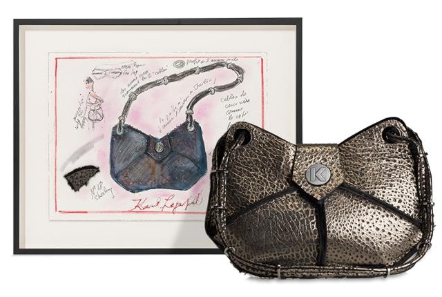 City butterfly handbag by Karl Lagerfeld, photo courtesy of Artnet.com