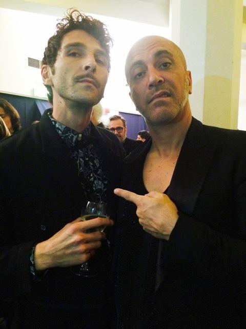 Christian Correnti and Liborio Capizzi, photo by N