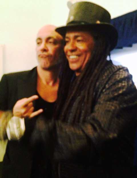 Liborio Capizzi and Richard Lewis aka Cass from the band Skunk Anansie, photo by N