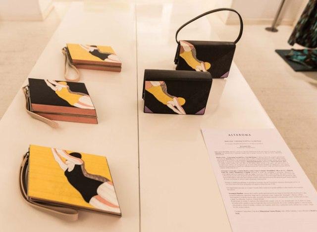 Benedetta Bruzziches at the Laura Urbinati boutique, photo by Allucinazione
