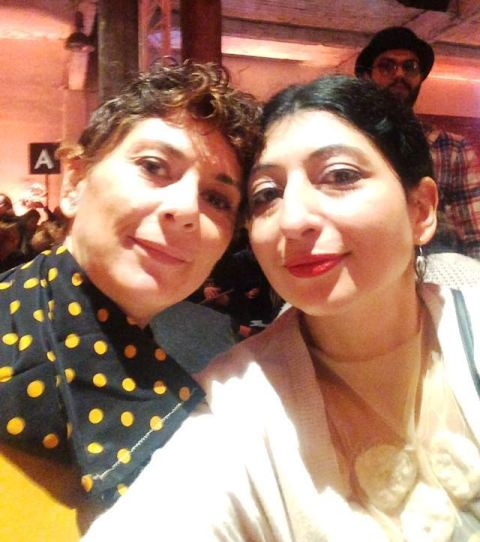 Me, myself & I with Raffaella Scordino, photo by N
