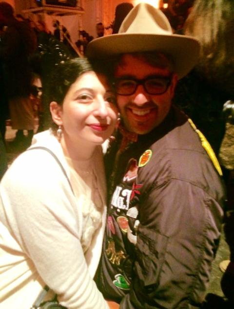 Me, myself & I along with Ari Seth Cohen, photo by Raffaella Scordino