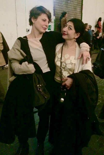 Me, myself and I with Livia Risi, photo by Raffaella Scordino