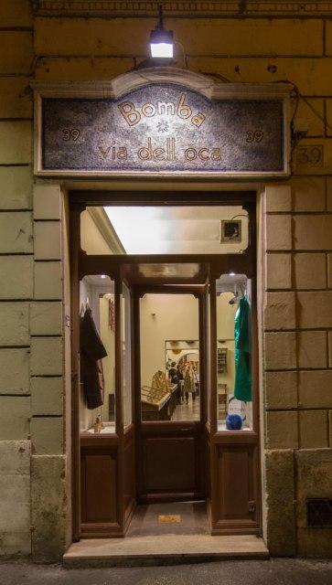 The atelier of Cristina Bomba, photo by Allucinazione