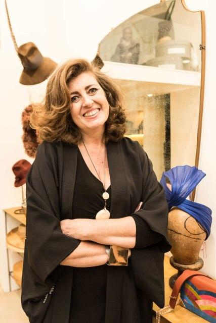 the milliner Patrizia Fabri, photo by Allucinazione