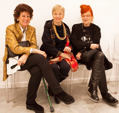 Bruna Casella, Rosy Biffi and the one and only Roberta Valentini