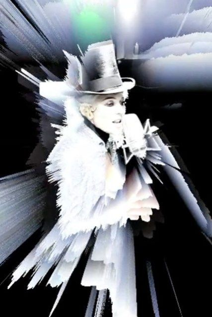 """Daphne Guinness, still image from music video of """"Fatal Flaw"""" by Nick Knight"""