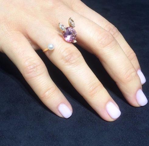 Delfina Delettrez, magic bunny ring, photo courtesy of Delfina Delettrez