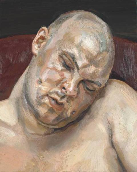 Leigh Bowery by Lucien Freud, 1991, Tate Modern