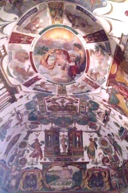 The Pavillion Ferdinando De' Medici at Villa Medici, photo by Giorgio Miserendino