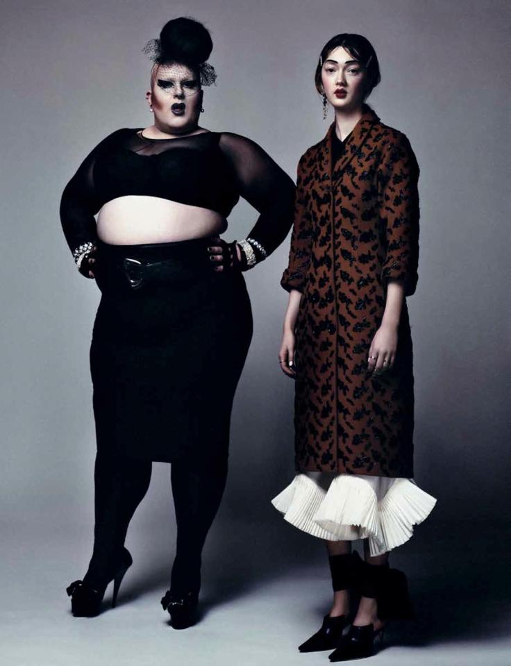 Naco Paris and Sophia Linnenwedel, photo by Laura Marie Cieplik