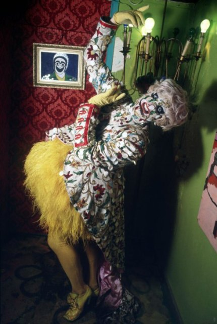 Leigh Bowery, photo by Ole Christiansen