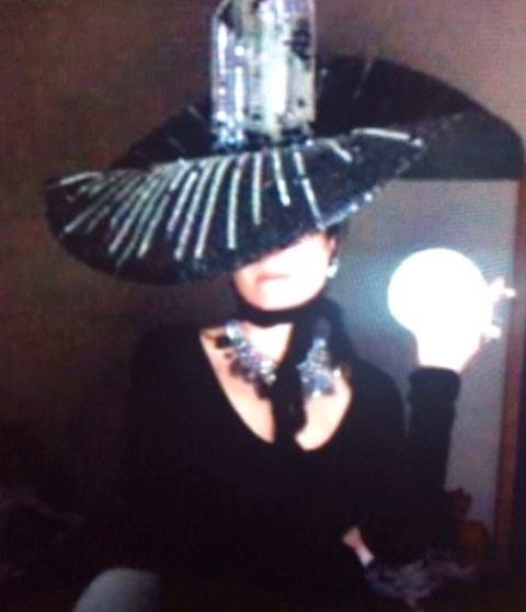 Alex Zapak aka The Countess during a Skype show