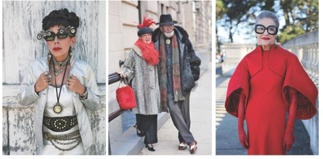 """photo by Ari Seth Cohen ft. in """"Advanced Style: older and wiser"""", courtesy of Ari Seth Cohen"""