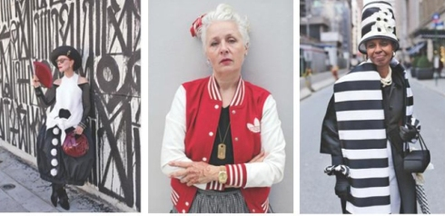 "photo by Ari Seth Cohen ft. in ""Advanced Style: older and wiser"", courtesy of Ari Seth Cohen"