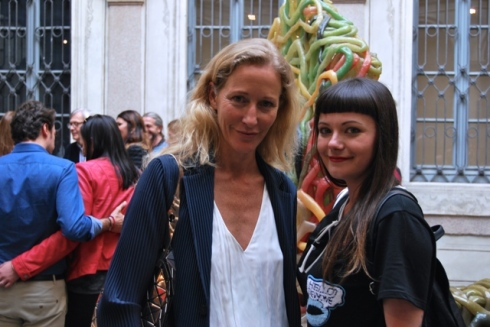 Giorgiana Ravizza and Jasmin Schroeder, photo by Jasmin Schroeder