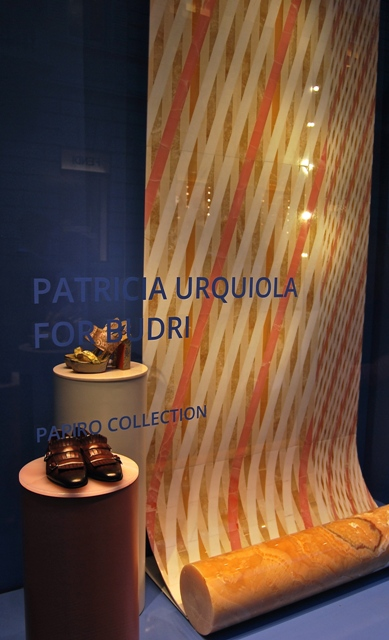 Santoni shoes and the Papiro collection by Patricia Urquiola for Budri, photo by Jasmin Schroeder