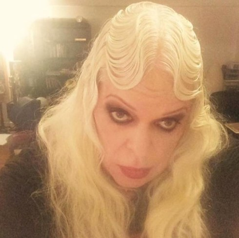 Genesis P-Orridge, photo courtesy Dazed Digital