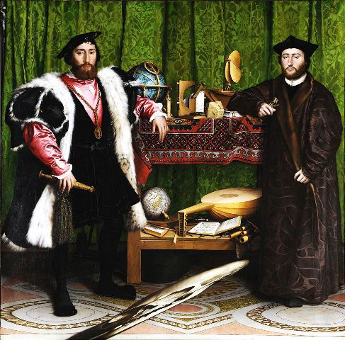The Ambassadors, Hans Holbein The Younger, 1533, National Gallery, London