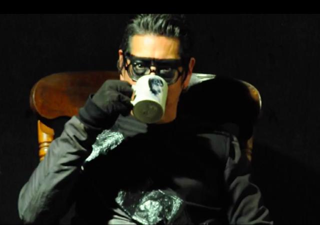 Rick Castro on film, still image by Rick Castro