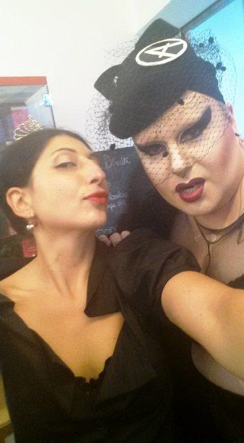Me. myself & I along with Naco Paris aka Madame Paris, photo by N