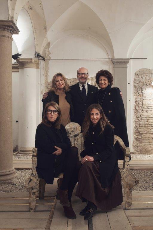 The founders of Abito: Simona Barbieri, Italo Scaietta, Bruna Casella, Manuela Galli, Constanza Zukierman, photo courtesy of Abito