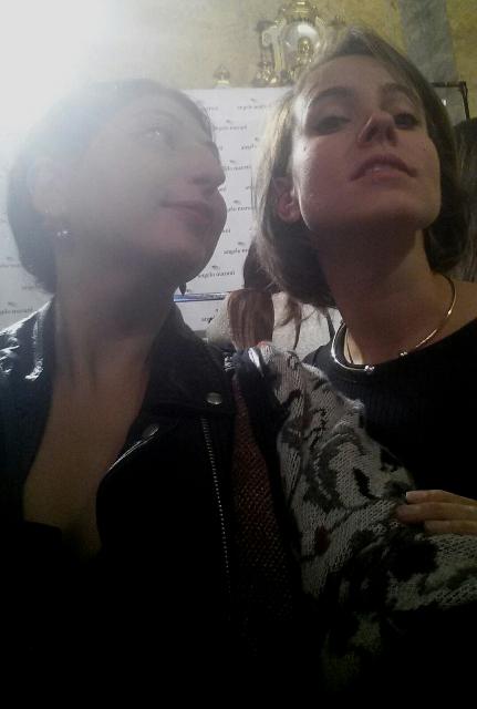 Me, myself and I along with Giulia Marani, photo by N
